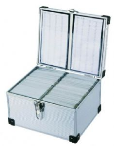 300 Disc Aluminium DJ Style Case by Neo Media